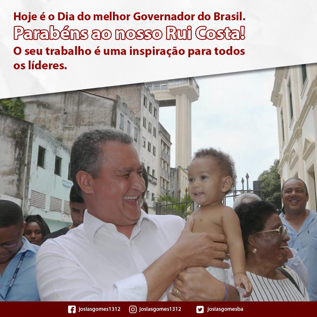 Parabéns Governador Rui Costa
