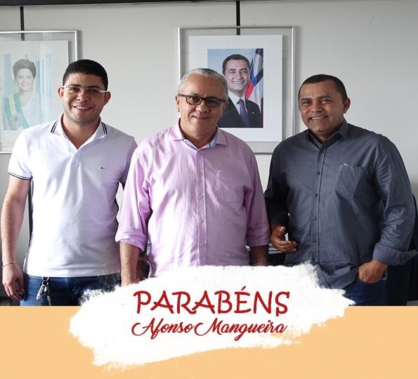 Parabéns Prefeito Afonso Mangueira