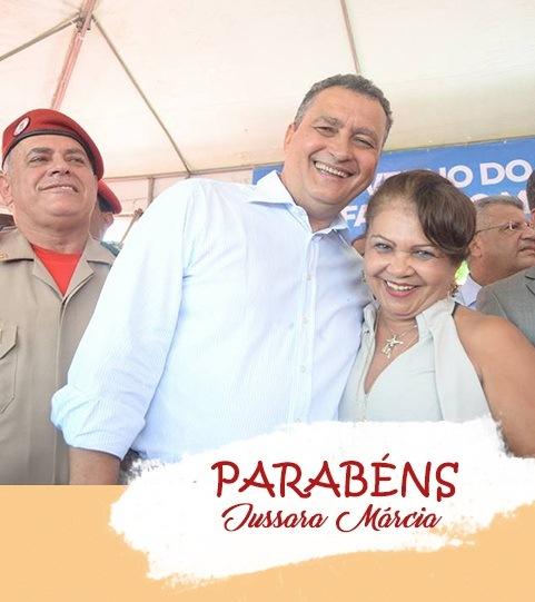Parabéns Prefeita Jussara Márcia