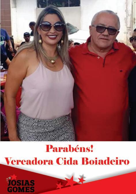 Parabéns Cida Boiadeiro