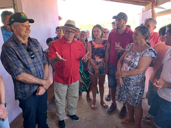 Quijingue: Deputado Josias Gomes Participa De Confraternização Na Comunidade De Casabu