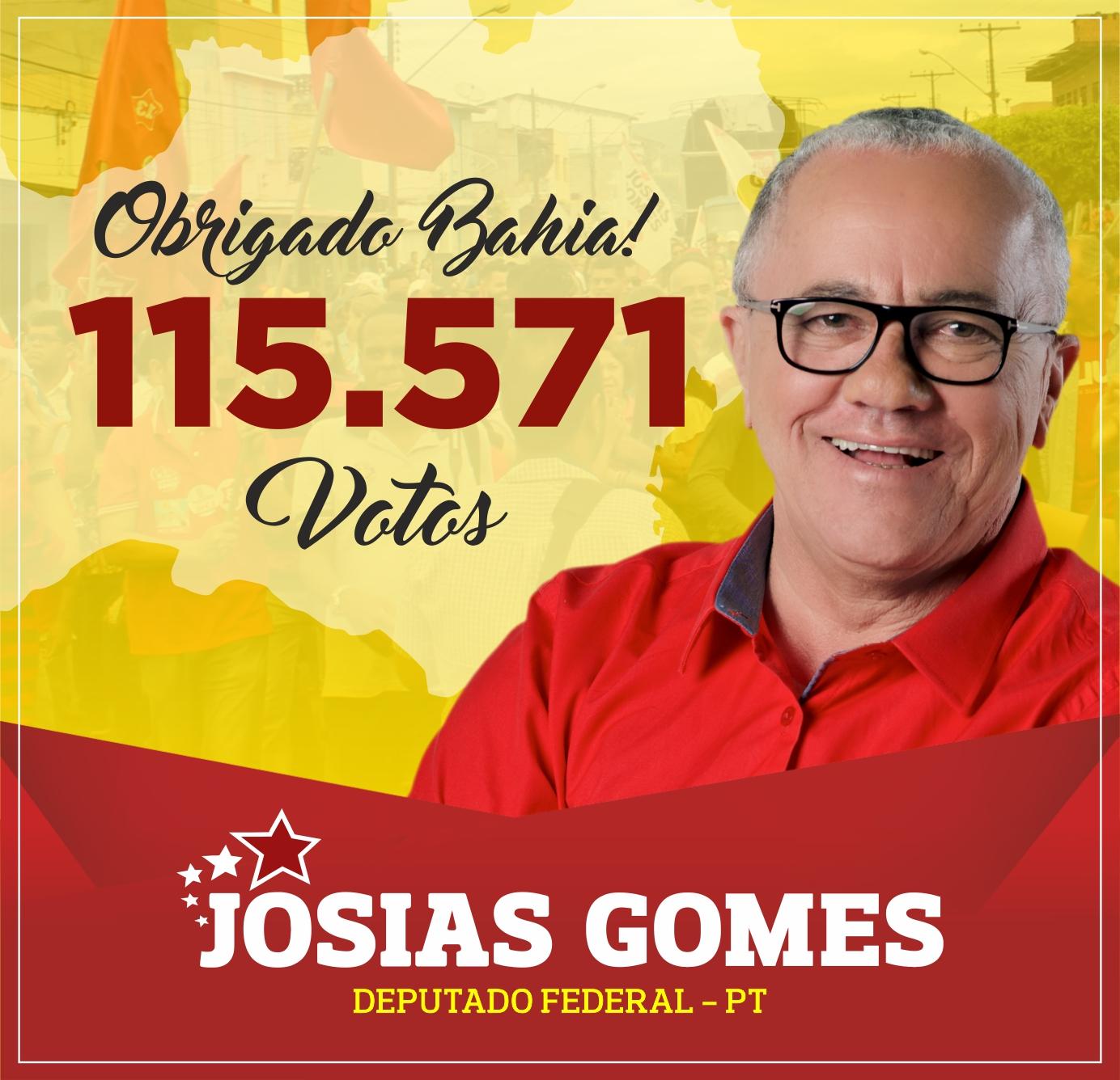 Pronunciamento Do Deputado Federal Josias Gomes Após Ser Empossado Para Mais Um Mandato