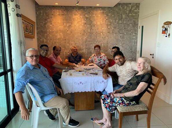 Salvador: Deputados Josias Gomes E Fátima Nunes Participam De Reunião Política