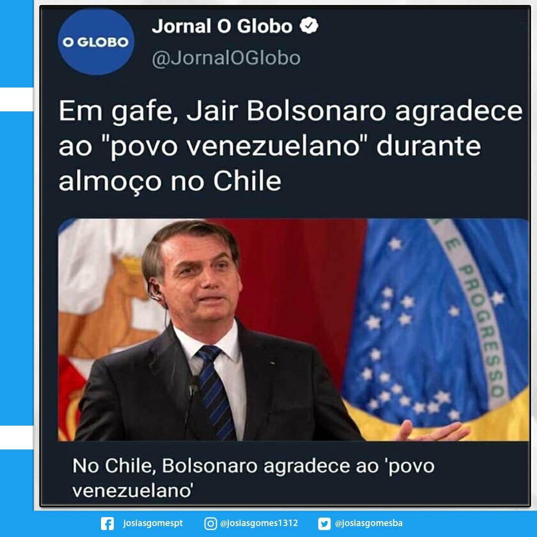 Brasil Passa Vergonha Com Deslizes Do Bozo
