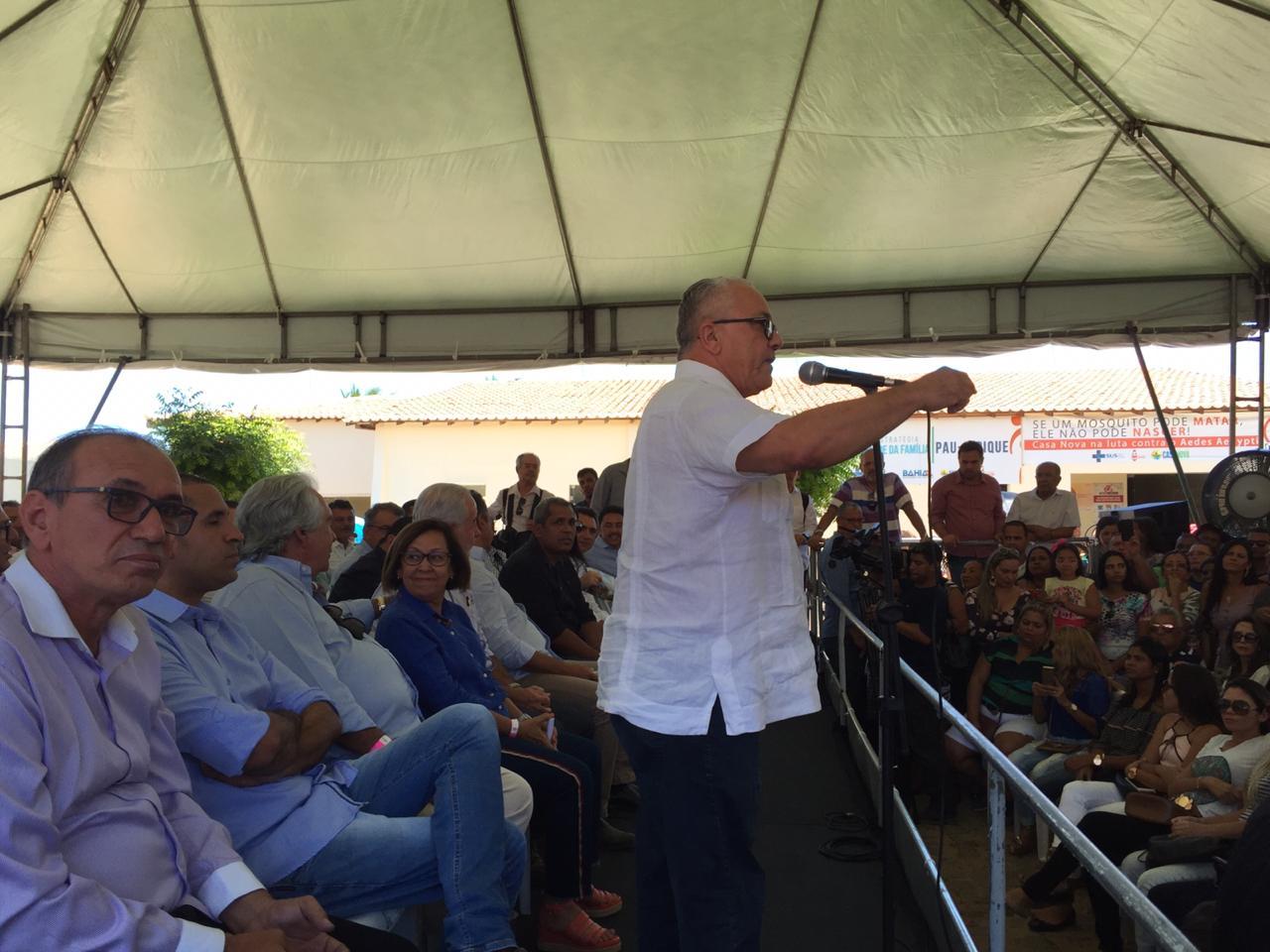 Casa Nova: Josias Gomes Participa Junto Com O Governador Da Entrega De Diversas Obras