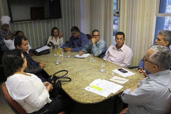 Deputado Robinson Almeida E Lideranças De Seis Municípios Foram Recebidos Em Audiência Na SDR