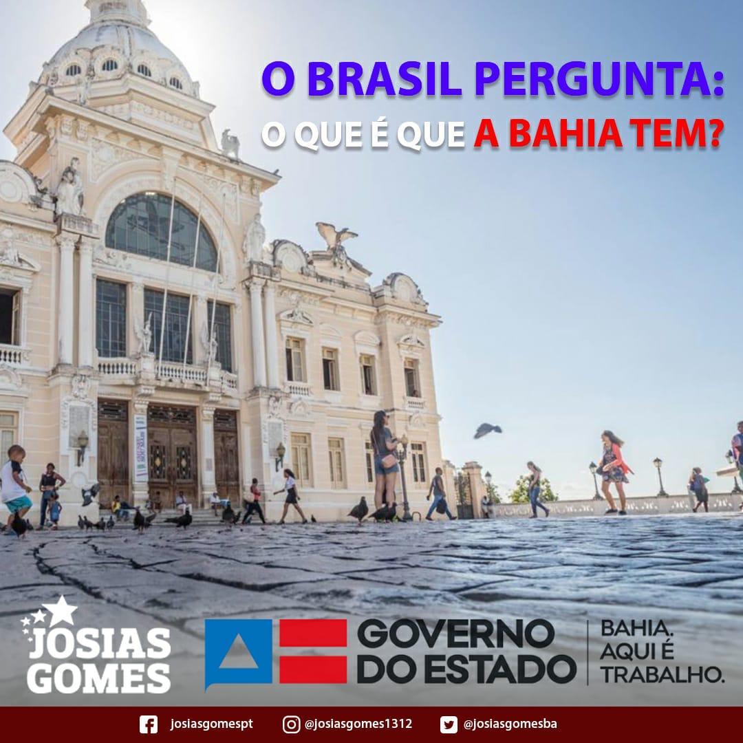 Bahia: Aqui Têm Muito Trabalho E Gestão Eficaz