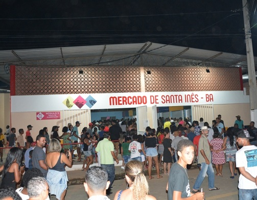 Mercado Municipal De Santa Inês é Entregue Totalmente Reformado Pelo Governo Do Estado