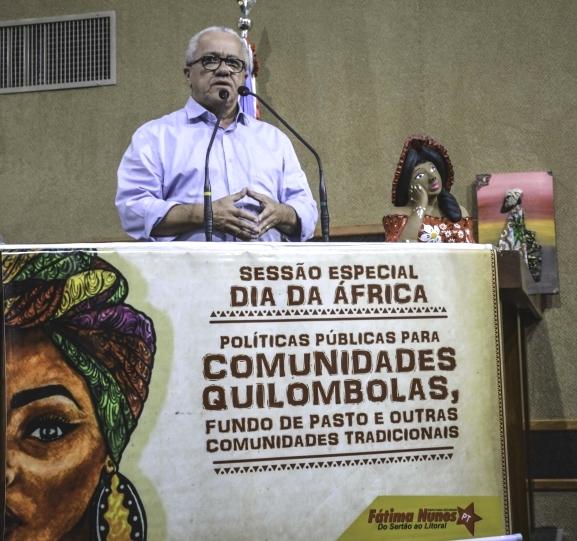 Secretário Josias Gomes Participa Na Alba Da Celebração Do Dia Da África