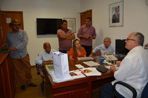 Lideranças Políticas De Pilão Arcado Participam De Audiência Com O Secretário Josias Gomes