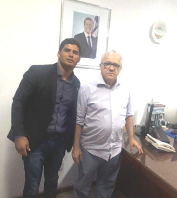 Liderança Política De Poções Participa De Audiência Com O Secretário Josias Gomes
