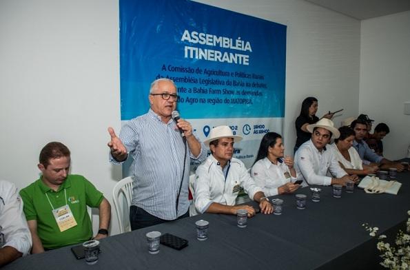 Josias Gomes Defende O Aumento Da Produção De Leite Na Região Oeste Da Bahia
