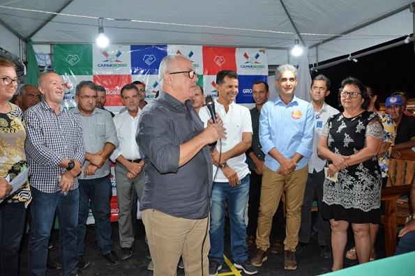 Capim Grosso: Josias Gomes Participa Da 1ª Feira De Negócios Agropecuários (Fenac)