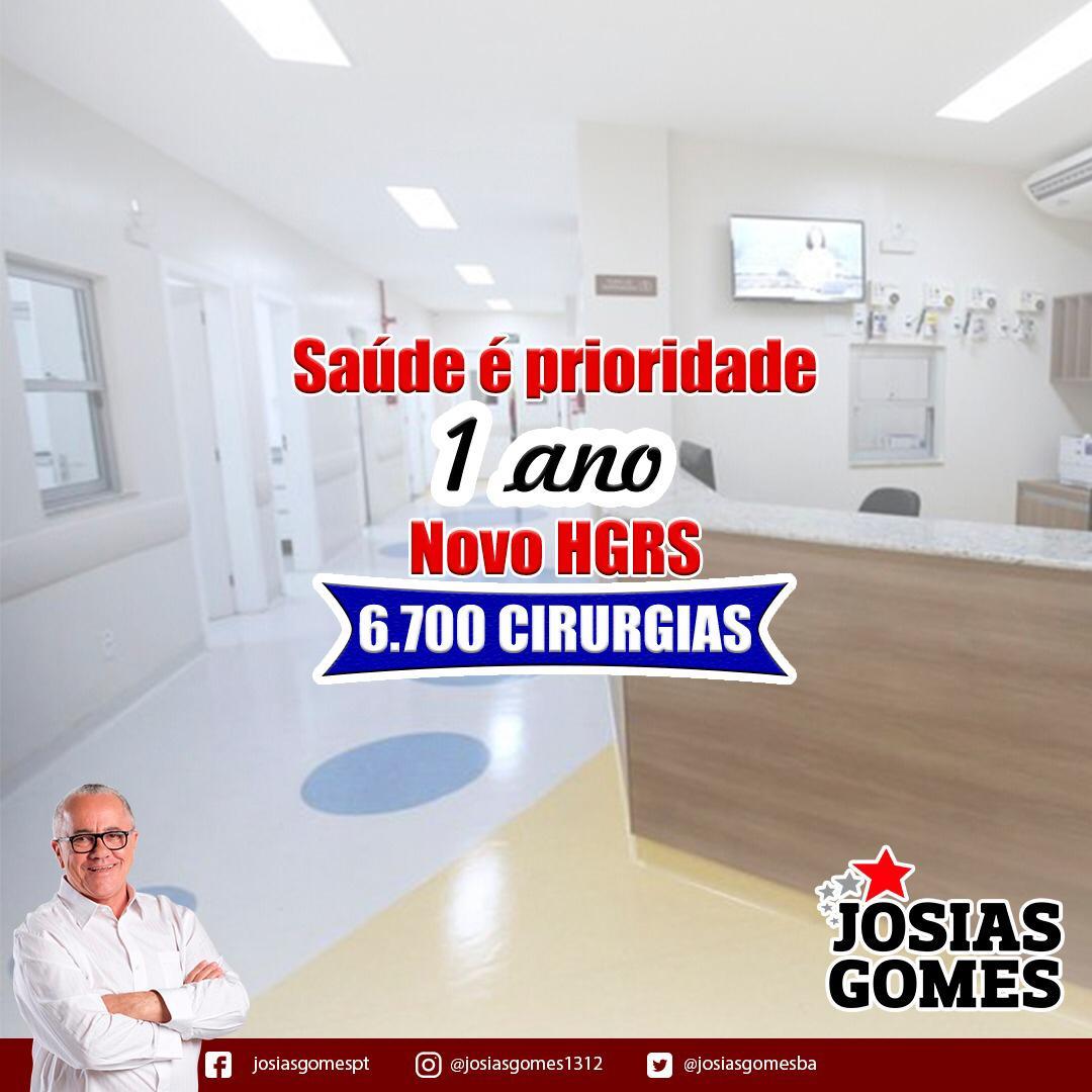O Sucesso Do Novo Hospital Roberto Santos!