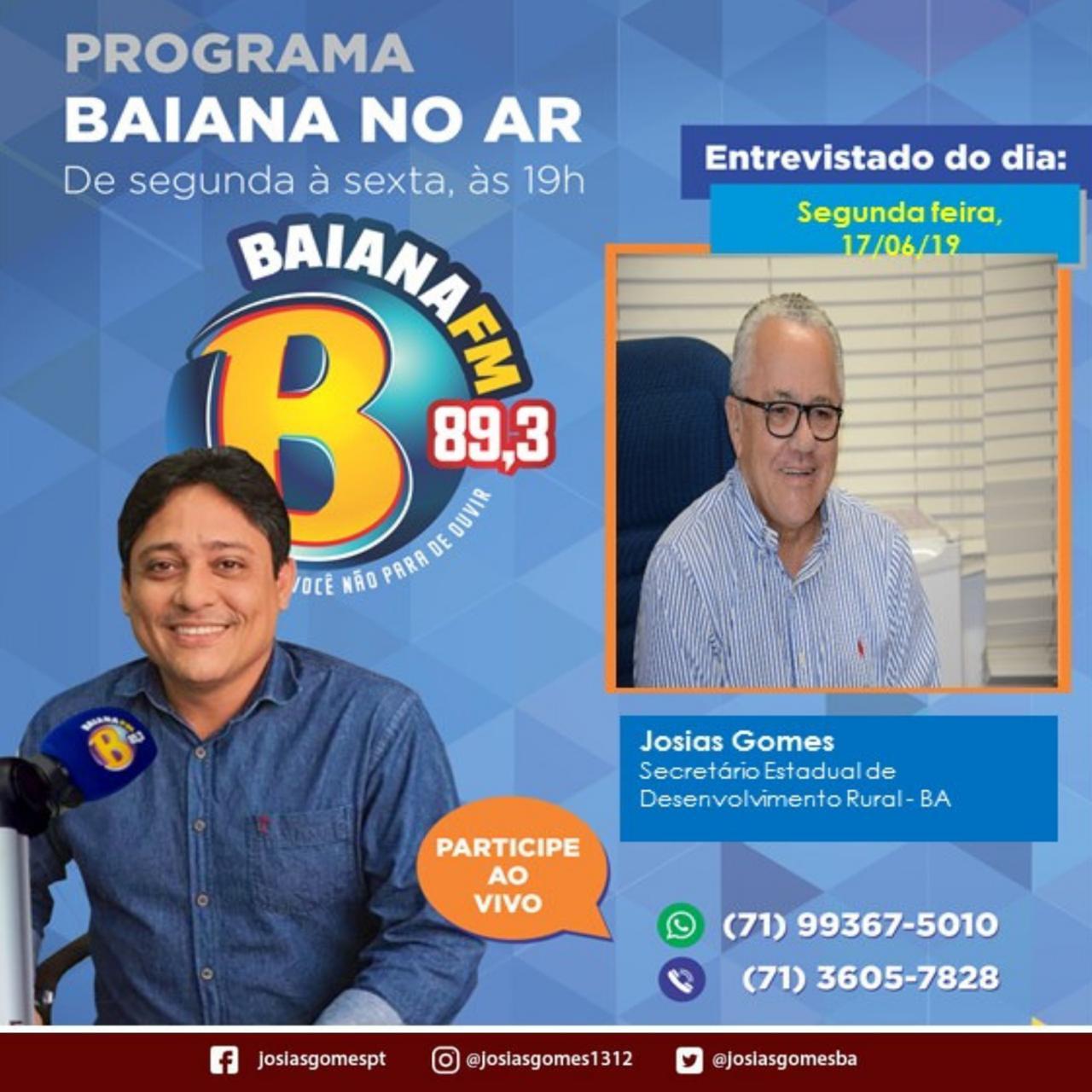 Entrevista Na Rádio Bahia FM!