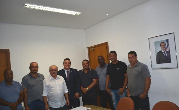 Deputado Marquinhos Viana E Três Prefeitos São Recebidos Em Audiência Pelo Secretário Josias Gomes