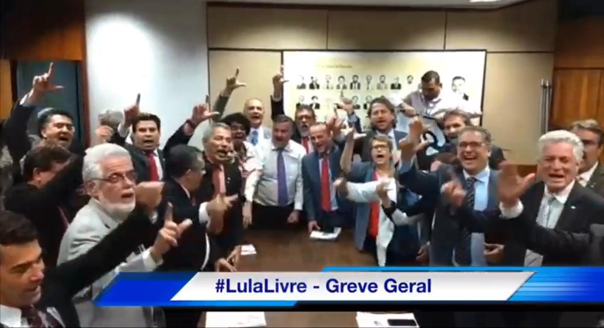PT Da Câmara Na Luta Por Lula Livre!