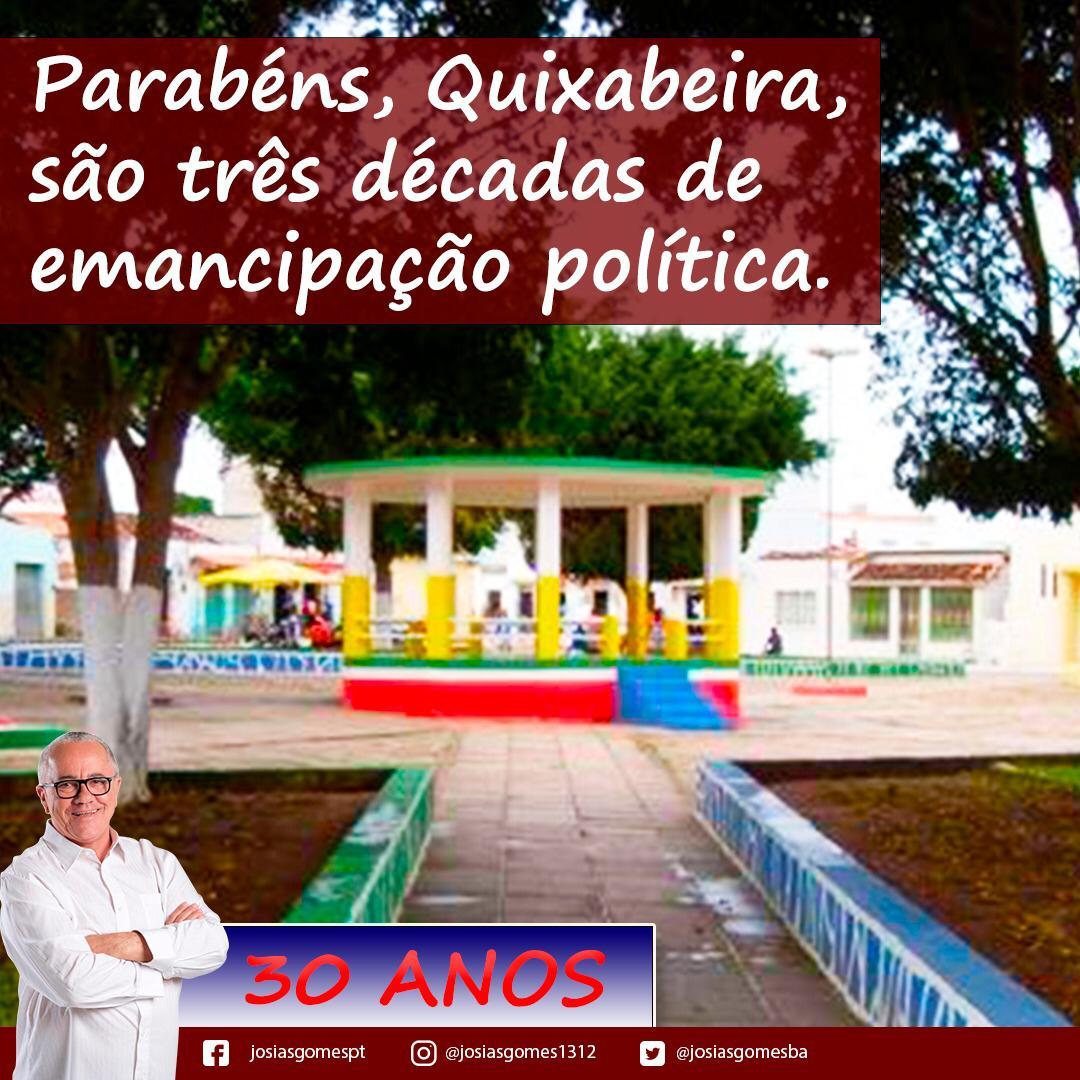 Quixabeira Comemora Emancipação!