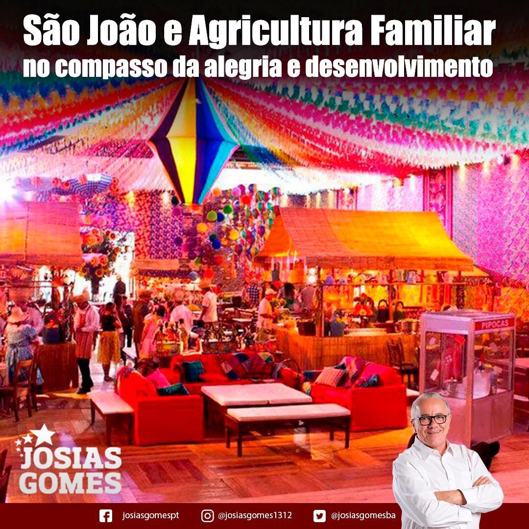 Agricultura Familiar No São João Da Bahia!