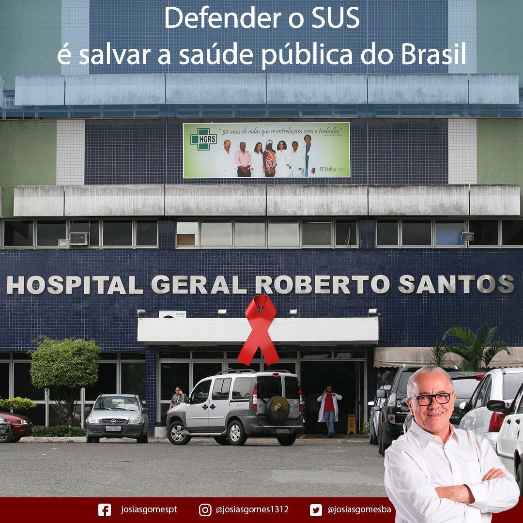 O SUS é Conquista Do Povo Brasileiro!
