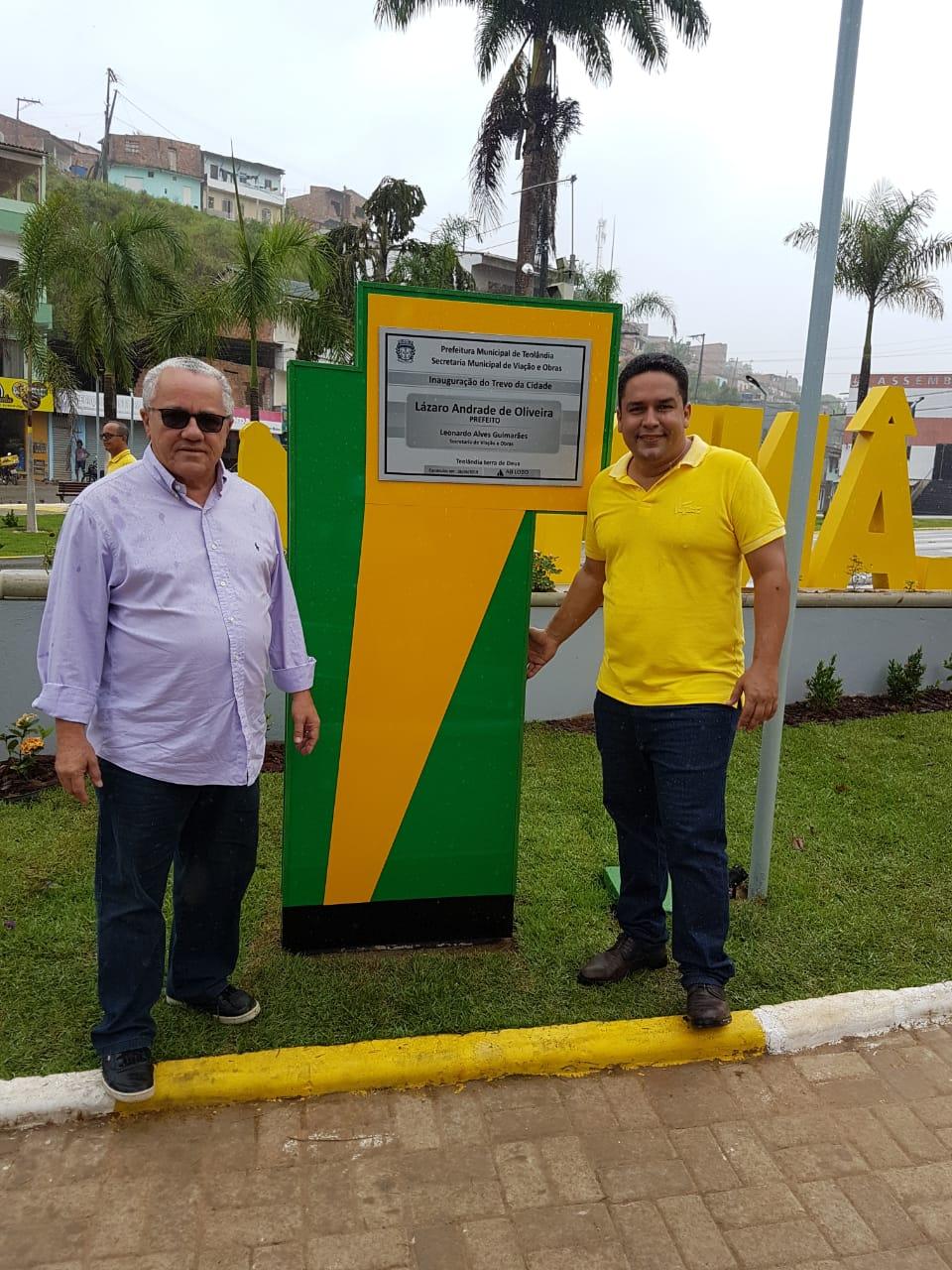 Prefeito De Teolândia E Secretário Josias Gomes Festejam O Sucesso Da 15ª Festa Da Banana