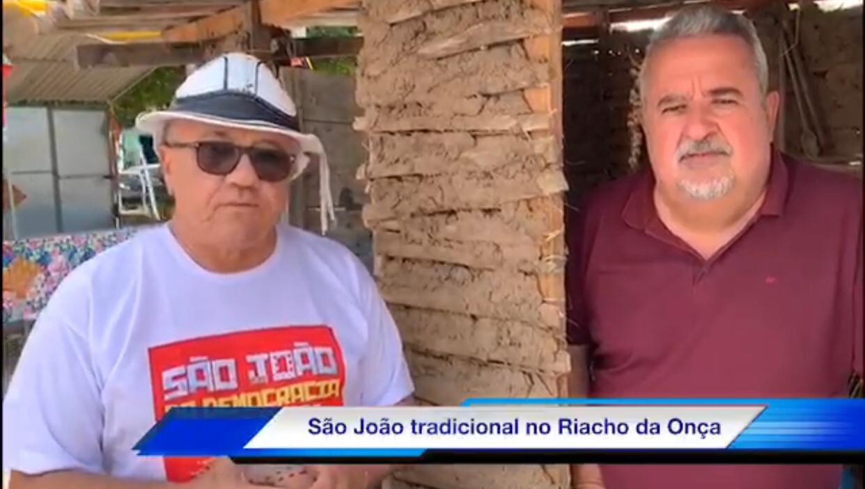 São João No Riacho Da Onça!