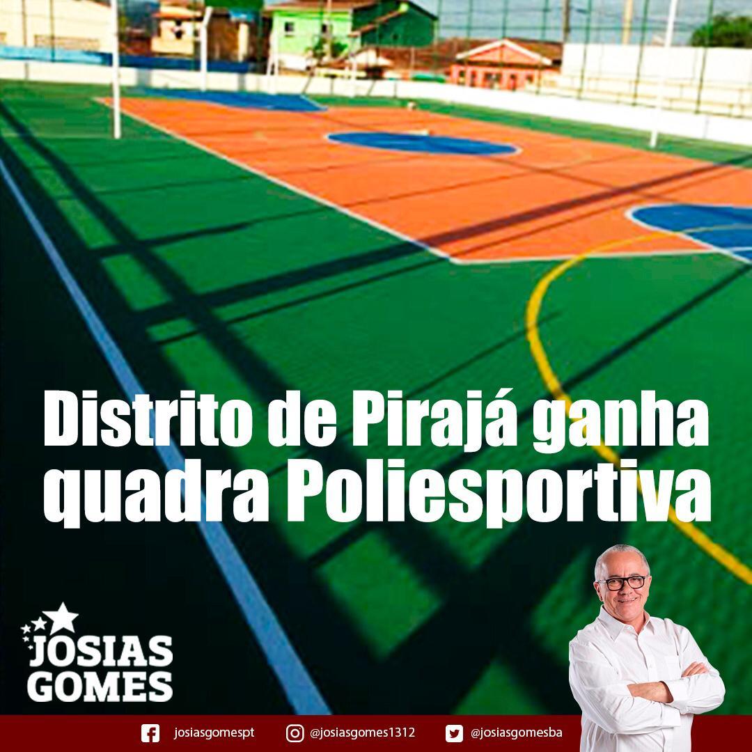 Distrito De Pirajá Inaugura Quadra Poliesportiva!