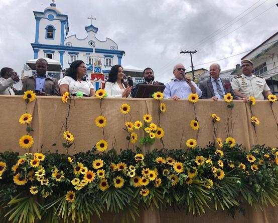 Ituberá: Secretário Josias Gomes Participa Da Festa Pelos 110 Anos De Emancipação Política