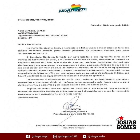Parabéns Consórcio Nordeste!