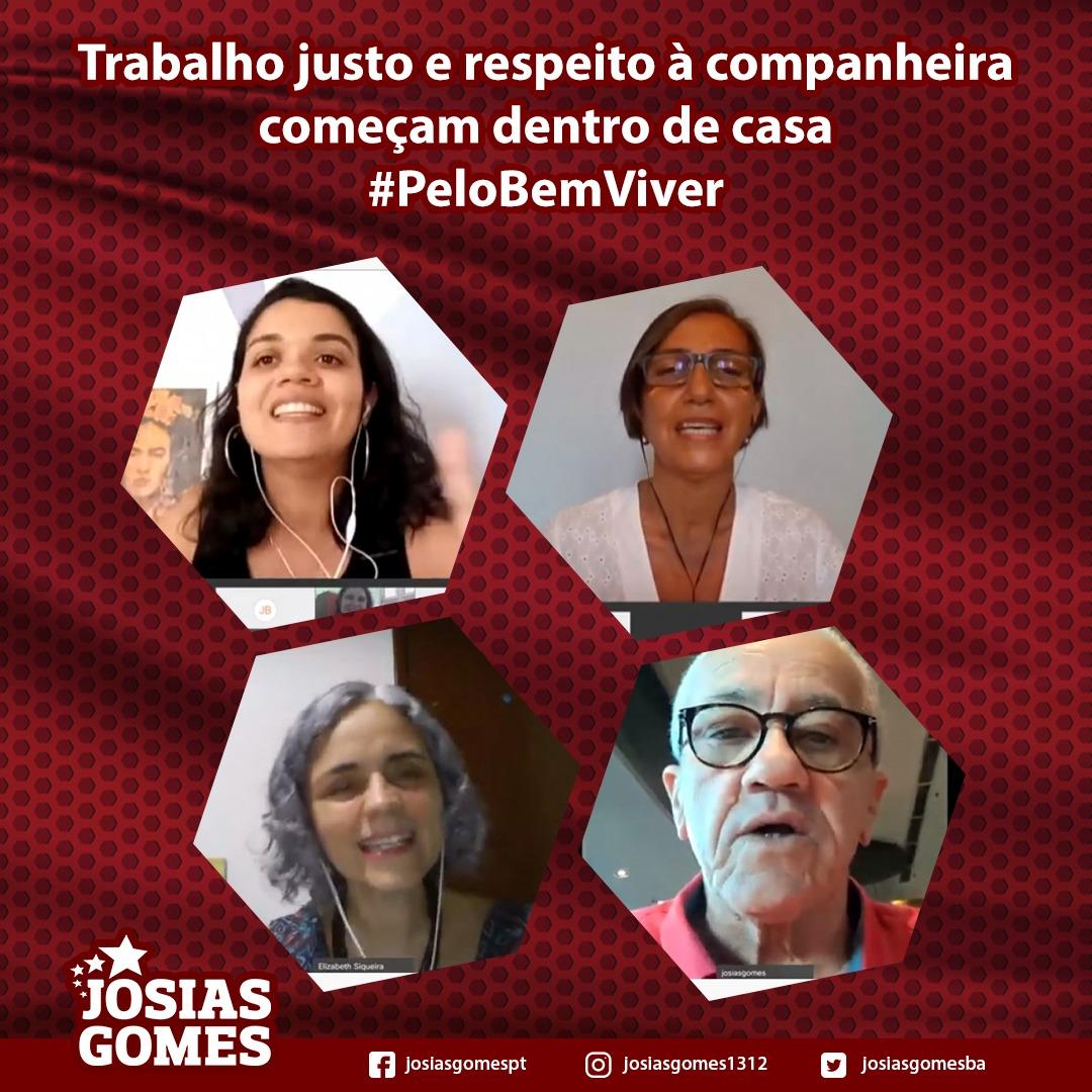"""Vamos Aderir à Campanha """"Pelo Bem-viver: Com Divisão Justa Do Trabalho Doméstico E Sem Violência!"""""""