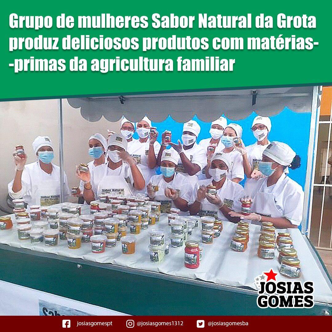 Grupo De Mulheres Natural Da Grota Desenvolve Linha De Produtos Com Matéria-prima Da Agricultura Familiar!