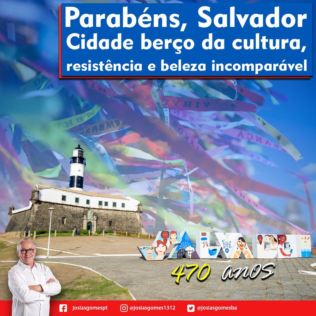 Parabéns Salvador