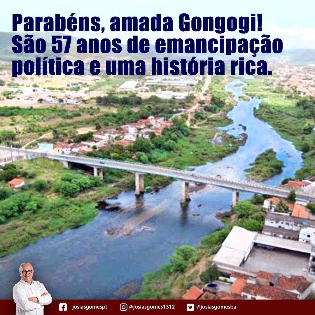 Parabéns Gongogi