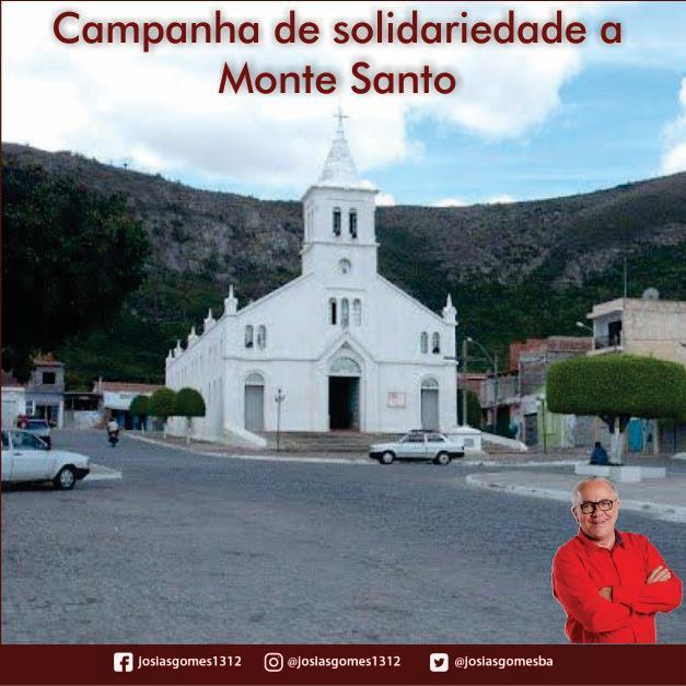 Monte Santo Precisa De Nossa Ajuda