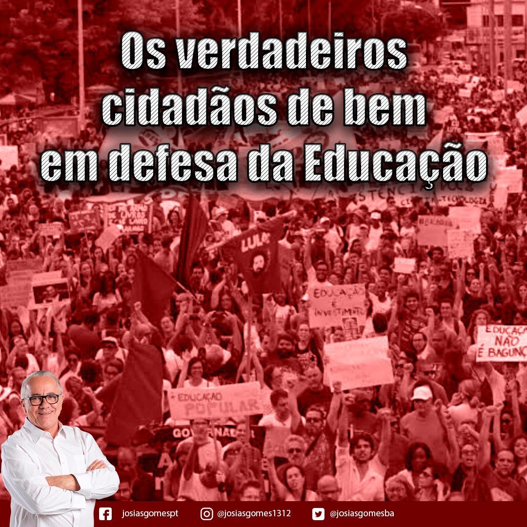 Todos Nas Ruas Pela Educação!