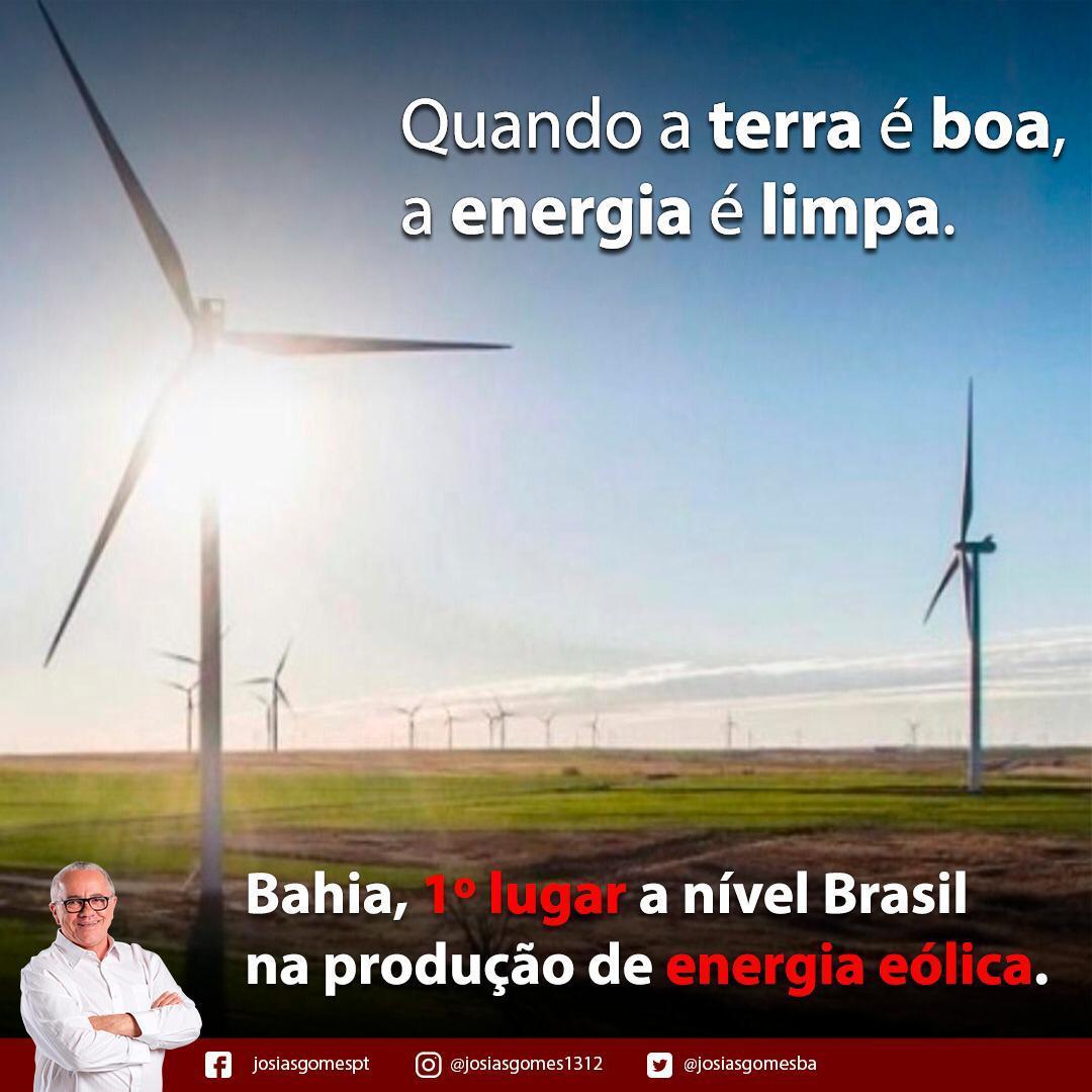 Bahia Lidera A Produção De Energia Eólica!