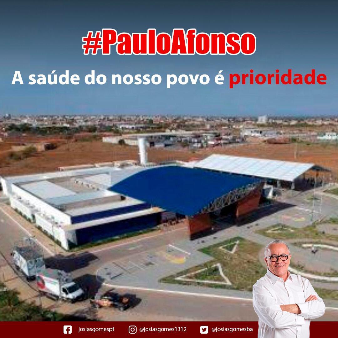 """Policlínica De Paulo Afonso é Mais Uma Obra Tamanho """"G"""""""