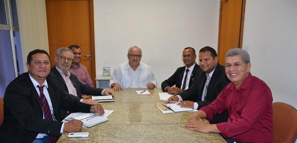 Vereadores De Malhada E Deputados Participam De Audiência Com O Secretário Josias Gomes