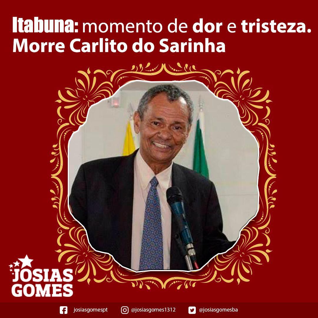 Itabuna Se Despede De Carlito Do Sarinha!