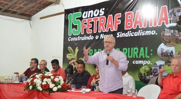 Secretário Josias Gomes Participa Da Comemoração Dos 15 Anos Da Fetraf