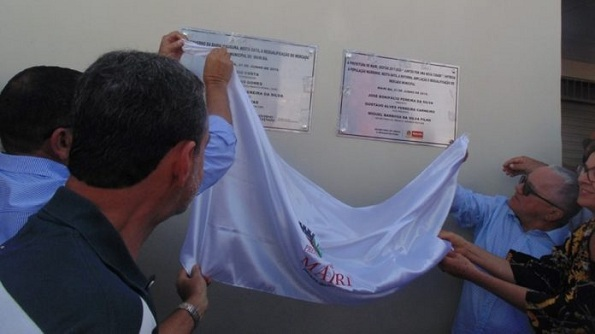 Mairi: Josias Gomes Participa Ao Lado Do Prefeito Jobope Da Inauguração Do Mercado Municipal