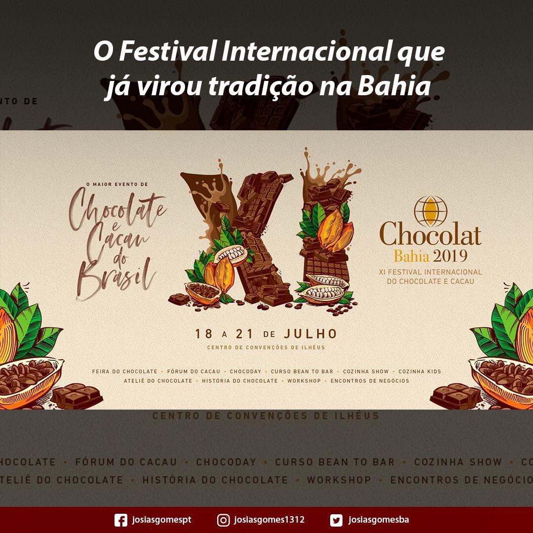 Ilhéus Em Festa Com O Festival Do Chocolate!