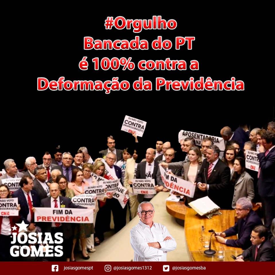 PT: O Partido Que Sempre Esteve E Continua Na Luta Ao Lado Do Trabalhador Brasileiro!