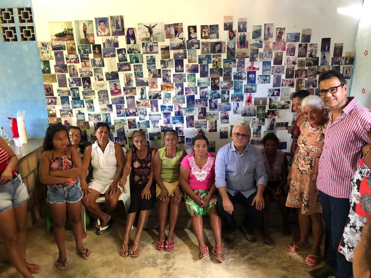 Em Itamaraju, Josias Gomes Visita As Comunidades Dos Distritos De Pirajá, Piraji, E São João Da Prata