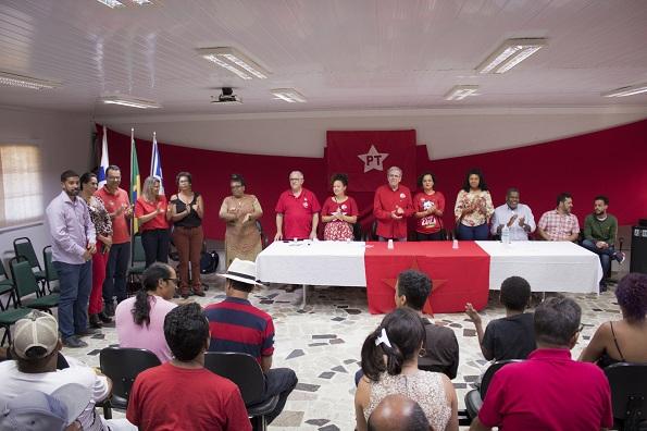 Teixeira De Freitas: Josias Gomes Participa Da Plenária Lula Livre Da Juventude Da CNB
