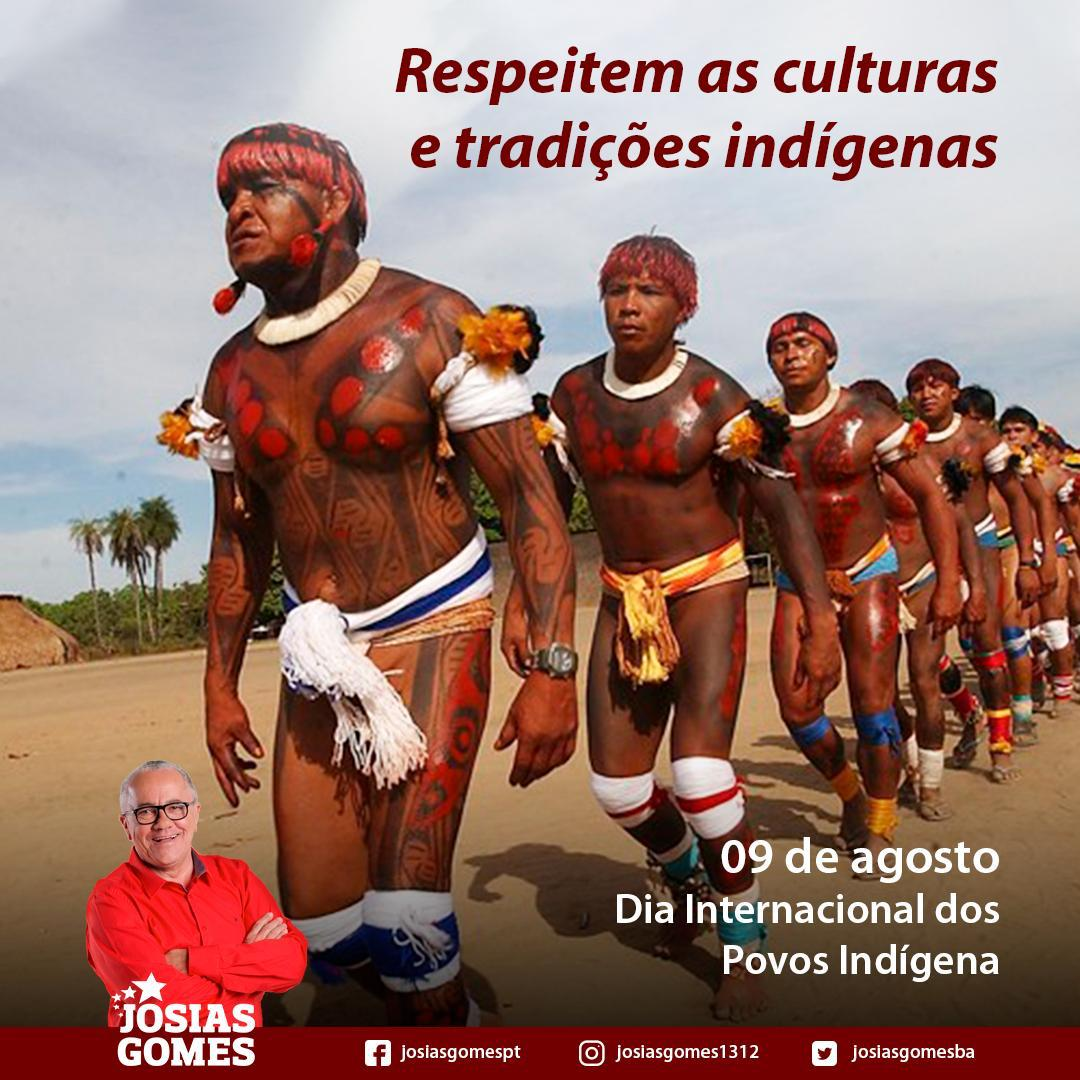Dia Dos índios!