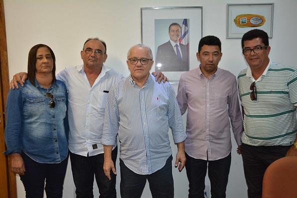 Vereadores De Chorrochó Participam De Audiência Com O Secretário Josias Gomes