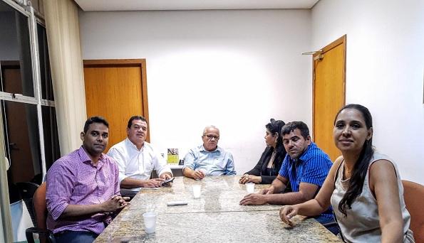 Vereador De Barra Da Estiva E Deputado Marquinhos Viana Recebidos Em Audiência Por Josias Gomes