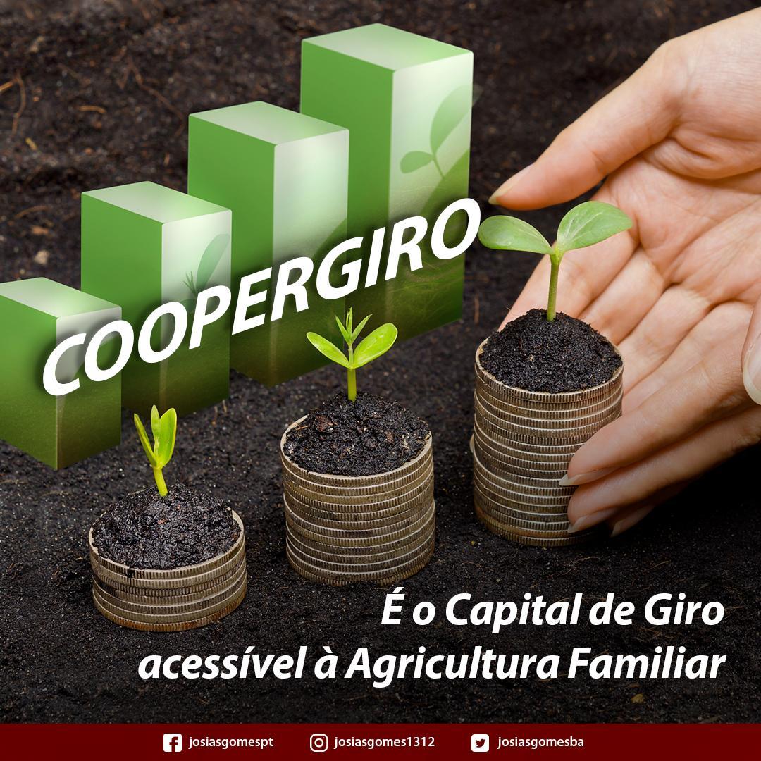 Capital De Giro Aos Produtores Rurais!