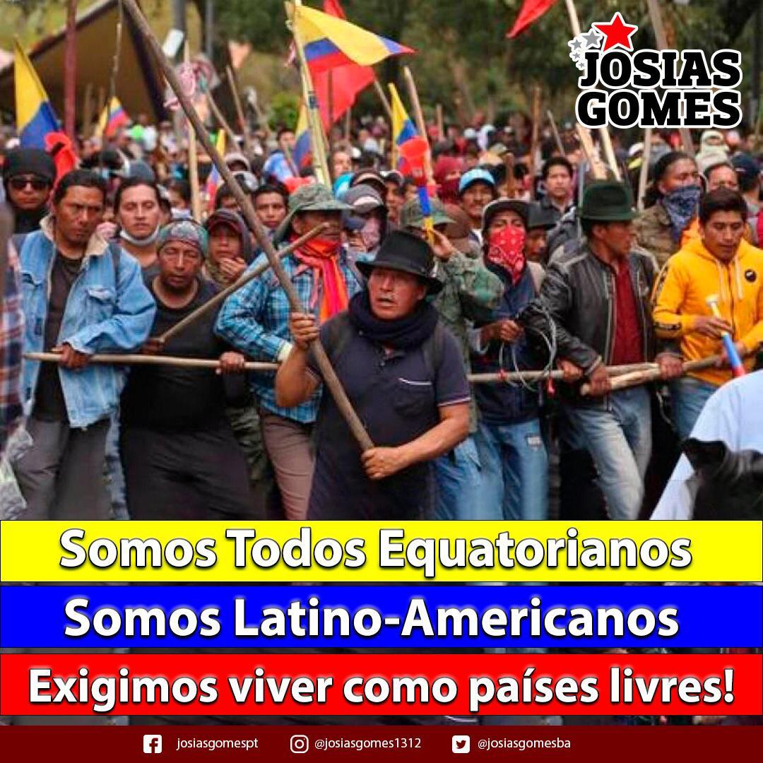 A Justa Revolta Dos Equatorianos!